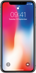 Apple iPhone X 64GB, vesmírně šedá