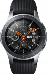 Samsung Galaxy Watch 46MM LTE, stříbrná