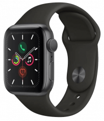 APPLE Watch Series 5 - 40mm, vesmírně šedá