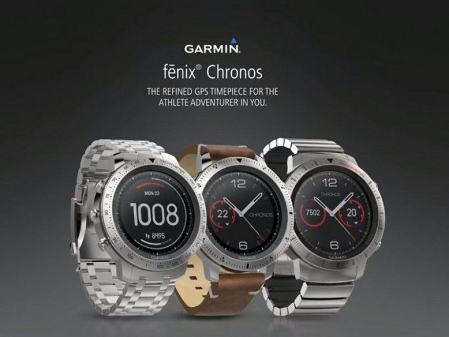 Hodinky Garmin fenix Chronos Steel Optic - Vodafone.cz 12d20e043f0