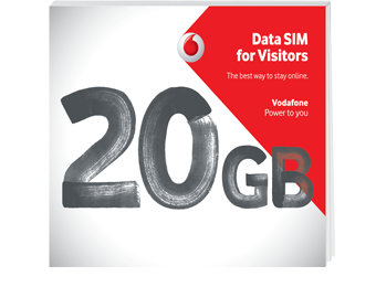 Get Data SIM for Visitors